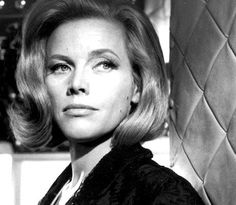 Honor Blackman as Pussy Galore in Goldfinger  #Bochic #Jewelry inspiration  http://bochic.com/content/