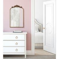 Shop Kate and Laurel Leanna Scalloped Oval Wall Mirror - Gold - 24x36 - Overstock - 31288732 Anthropologie Mirror, Arch Mirror, Wall Mirror, Framed Wall, Mirror Shop, White Mirror, Beautiful Mirrors, Large Furniture, Home Decor Outlet
