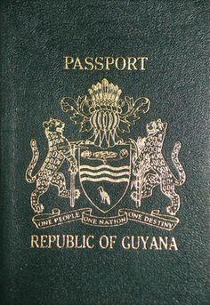Guyana Pre-CARICOM Passport