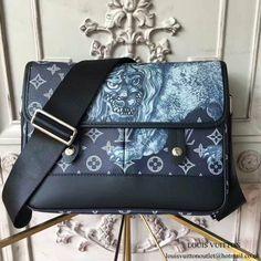 Louis Vuitton M54248 Messenger PM Messenger Bag Monogram Canvas
