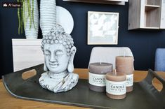 Deco is our passion! Home Candles, Trends, Buddha, Passion, Sculpture, Statue, Deco, Art, Art Background