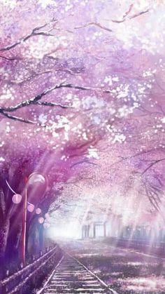 Anime Stock Photo - Landscape - # Scenery- Kho Ảnh Anime – Phong Cảnh – Phong Cảnh Anime Stock Photo – Landscape – # Landscape – Page 3 – Wattpad - Anime Scenery Wallpaper, Nature Wallpaper, Tree Wallpaper, Unique Wallpaper, Beautiful Wallpaper, Wallpaper Backgrounds, Fantasy Landscape, Landscape Art, Anime Cherry Blossom