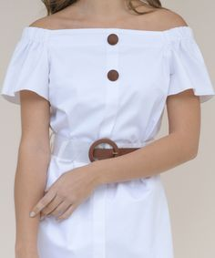 Ζώνη Διάφανη με Καφέ Τόκα | Vaya Fashion Boutique White Shorts, Blouse, Tops, Women, Fashion, Moda, Fashion Styles, Blouses, Fashion Illustrations