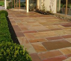 Modak sandstone paving has a stunning combination of warm pink and orange tones. Natural Stone Masters is the one of the top exporter of modak sandstone......