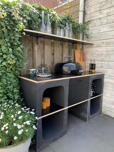 Outdoor Oven, Backyard Kitchen, Outdoor Kitchen Design, Outdoor Fire, Outdoor Cooking, Backyard Patio, Backyard Landscaping, Outdoor Decor, Back Gardens