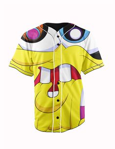 Trippy SpongeBob ... http://www.jakkoutthebxx.com/products/real-american-size-trippy-spongebob-squarepants-face-yellow3d-sublimation-print-custom-made-button-up-baseball-jersey-plus-size?utm_campaign=social_autopilot&utm_source=pin&utm_medium=pin  #wanelo #shoppingtime #whattobuy #onlineshopping #trending #shoppingonline #onlineshopping #new