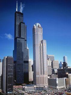 Torre Sears ahora Torre Willis en Chicago.