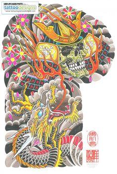 Japanese Tattoo Art, Japanese Tattoo Designs, Japanese Painting, Asian Tattoo Sleeve, Japanese Sleeve Tattoos, Sick Tattoo, Tiger Tattoo, Traditional Japanese Tattoos, Asian Tattoos