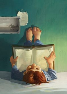 Reading is very versitial, you can read anywhere and in any position...