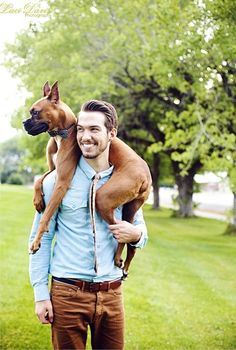 DOG PHOTOGRAPHY: MEN & THEIR DOGS | Pawsh MAGAZINE & STUDIO
