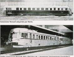 La Compañía del Norte utilizó automotores Renault en 1935, viaje Zaragoza-Canfranc, vía Gurrea, en solo tres horas y media, con muy pocas paradas. Con Renfe salía de Zaragoza a primera hora de la tarde y por Tardienta y Huesca, los otros dos servicios utilizaban la línea más corta por Zuera-Gurrea-Turuñana. El automotor enlazaba en Canfranc con un tren de la SNCF con poco tiempo para el trasbordo, por lo que en Jaca subían dos inspectores de policía para hacer el control de pasaportes a…