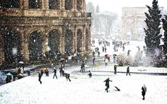 In Rome, hotel rates are lower and restaurants are blissfully uncrowded in winter