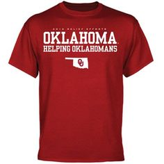 Net proceeds from the sales of this shirt will go to the United Way of Norman to benefit those affected by recent wildfires. #sooners