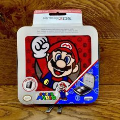 PDP Official Nintendo 2DS Carry Case & game holder Super Mario Design New Sealed Nintendo 2ds, Super Mario, Ebay, Console, Computers, Consoles