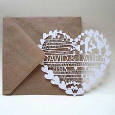 Ideas para la invitación perfecta de tu boda » Mi Boda #MiBoda #novias #ideas #inspiración #invitación #perfecta