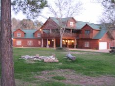 Bastrop lodge rental - Reflections Lodge (front view)