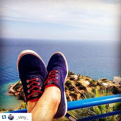 with ・・・ Sunny holiday ☀️☀️☀️ Ios Greece! Sperrys, Sunnies, Greece, Ios, Sneakers, Holiday, Fashion, Greece Country, Tennis