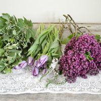 Making Grocery Store Flowers Look Their Best from Wild Folk Studio