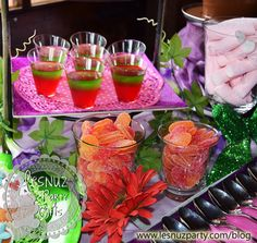 Gelatina y chuches - Jelly and sweets