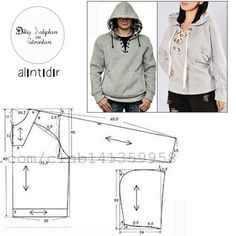 Amazing Sewing Patterns Clone Your Clothes Ideas. Enchanting Sewing Patterns Clone Your Clothes Ideas. Clothing Items, Clothing Patterns, Dress Patterns, Sewing Patterns, Hoodie Pattern, Jacket Pattern, Sewing Pants, Sewing Clothes, Make Your Own Clothes