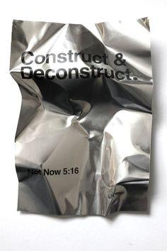 Ra Bear / Construct & Deconstruct / Metal Manifesto / Poster...
