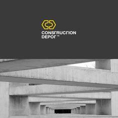 Construction Depot logo / by Charlie Isslander, via Behance