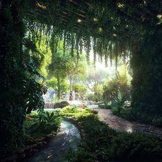 ドバイ 熱帯雨林ホテル