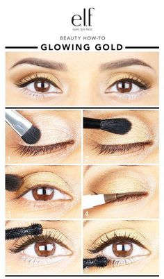 #beginning #feedback #eyeliner #obsessed #products #elfette #glowing #shadows #totally #enough #enough #youre #doing #looks #brownHey elfette! I know you just can't get enough of the e.l.f. Shadows and eye products and you're totally obsessed... don't try to hide it! We love all the feedback from you girls about doing looks with brown eyeliner, so here's to the beginning of many more to come. You'll be glowing gold soon enough! #EyelinerWaterline