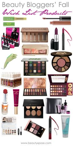 The change of seasons always inspires change in your routines – clothing, makeup, cleaning, etc. To prep for the cooler months, beautyXposé share's a few beauty bloggers' Fall wish list products.