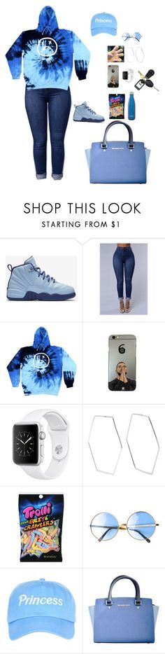 """""""Untitled #19"""" by izyyyy ❤ liked on Polyvore featuring NIKE, Adina Reyter, Michael Kors and S'well"""