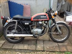 My Honda #CB200