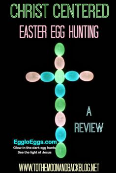 Christ Centered Easter Egg Hunting {An Egglo Entertainment Review}