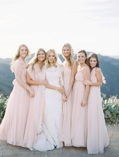 How to Save Your Bridesmaids Money (+ Be the Best Bride Ever!) - Style Me Pretty