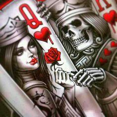 Spielkartenliebe