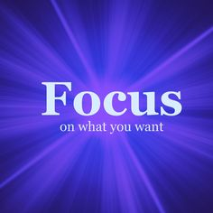 If you get law of atraction scatter brain ~ Improve your focus with these law of attraction tips