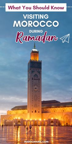 Everything you need to know if you're planning a visit to Morocco during Ramadan. Visit Morocco, Morocco Travel, Empire State Building, Ramadan, Need To Know, Countryside, Vacation, How To Plan, City