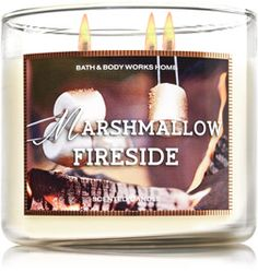 Fall is Bath and Body Works' best season for home fragrance. This candle is a perfect blend of smoky and sweet.