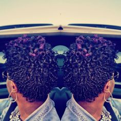 Natural twist Mohawk