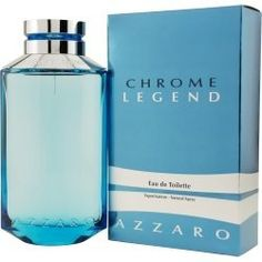 CHROME LEGEND by Azzaro EDT SPRAY 2.6 OZ by Azarro. $27.50. EDT SPRAY 2.6 OZ. Launched by Azzaro in 2007. Smells of Moss, Musk, Sea Spray, Apple, Tea, Bitter Orange, Amber. It is recommended for casual wear. This Fragrance is for MEN. EDT SPRAY 2.6 OZ Design House: Azzaro Year Introduced: 2007 Fragrance Notes: Moss Musk Sea Spray Apple Tea Bitter Orange Amber