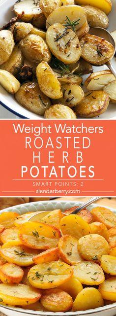 Roasted Herb Potatoes - Slenderberry