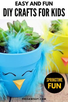 Are you looking for a few fun, simple to follow, educational crafts and activities that will have the kids learning for hours at a time? Be sure to check out these 23 easy, DIY craft for kids of all ages and perfect for any occasion whether you need an extra after-school activity, or crafts for a special event, birthday party, or girls sleepover! Fun Crafts For Kids, Easy Crafts For Kids, Diy Arts And Crafts, Simple Crafts, Diy Projects For Kids, Project Ideas, Button Tree Art, Hungry Caterpillar Craft, Rainbow Paper