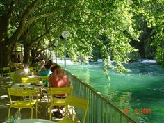 Fontaine de Vaucluse, France - this is a must stop!