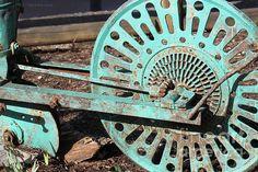 Old Farm Equipment by Todd Blanchard Old Farm Equipment, Old Tractors, Garden Tools, Fine Art America, Wall Art, Gallery, Farming, Roof Rack, Yard Tools