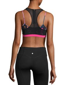 b8aa1dcc1d Vimmia Tempest Rose Acro Layered Sports Bra
