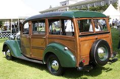 Queen Mothers Ford Pilot Woodie.