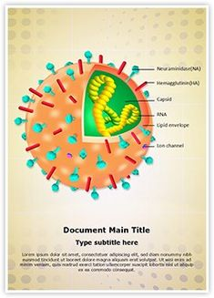 Immunology and allergy powerpoint template free download influenza virion structure ms word template is one of the best ms word templates by editabletemplates toneelgroepblik Image collections