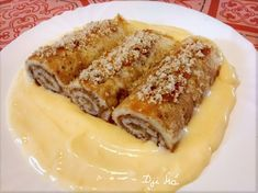 Easy Desserts, Delicious Desserts, Dessert Recipes, Yummy Food, Cake Recipes, My Favorite Food, Favorite Recipes, Salty Snacks, Hungarian Recipes
