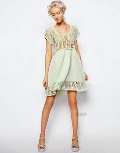 Crochetemoda: Dresses - inspiration only, no pattern