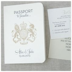 Boarding Pass Save the Date-pretty as a picture.ie   vintage ...