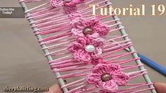 As Receitas de Crochê: Crochê de grampo floral                              …
